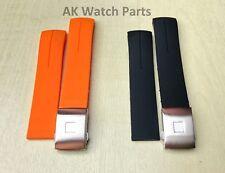 20mm/21mm Correa de caucho se ajusta Tissot T-touch Expert T013420A/T047420A banda II