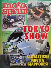 Motosprint 46 1987 Novità Giapponesi. Aprilia TX 125 M. Rodney Smith