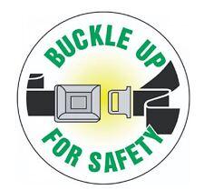 Buckle Up For Safety Hard Hat Decal Hardhat Sticker Helmet Label H111