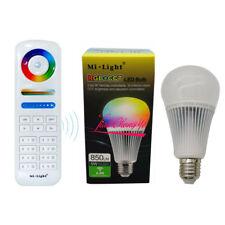 9W RGB+CCT Mi Light LED Bulb E27 Dimmable LED Lamp + FUT089 RGBW Remote new