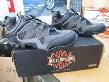 NEW Harley Davidson Mens Leather Shoe Medium Black Arrison