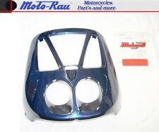 Malaguti Crosser CR 1 Frontverkleidung Lampenmaske blau / rot Scudo Fearing