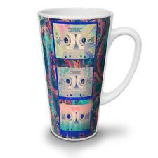 NASTRO A CASSETTA SONG MUSIC NUOVO White Tea Tazza Da Caffè Latte Macchiato 12 17 OZ (ca. 481.93 g) | wellcoda