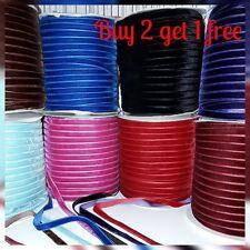10mm ruban de velours achetez 2 obtenez 1 gratuit 1M 2M 5M velours de coton gr8 pour épaisse or collier