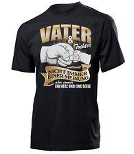 Vater und Tochter vielleicht nicht immer einer Meinung Herren T-Shirt Vatertag