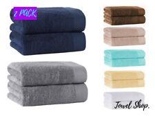 Super Jumbo Bath Sheets | Pack of 2 | Big, Large Size Towels | Size 100 x 200 cm