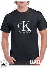 T-Shirt  DIVERTIDA CALVO KIEN CALVIN KLEIN CAMISETA  ***Calidad 100%***