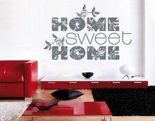 Wandtattoo Home Sweet home uss182 Wandaufkleber Wohnzimmer Zu Hause Wohnung