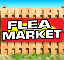 FLEA MARKET Advertising Vinyl Banner Flag Sign Many Sizes Available USA