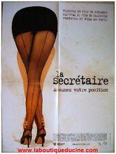 LA SECRETAIRE Affiche Cinéma Movie Poster JAMES SPADER Maggie Gyllenhaal 53x40