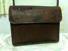 Bag Satchel Messenger  New Vintage lovely Genuine Real Leather Handbag Shoulder