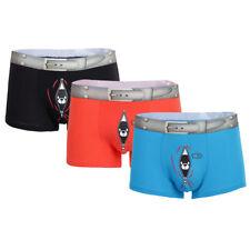 6 Pack Boxer Senza cuciture Novità Biancheria Intima Pantaloncini Da Uomo Divertente assortiti Designs