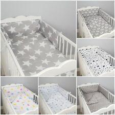 5 3 2 PZ LUXURY CULLA/LETTINO BAMBINO biancheria da letto set piumone paracolpi trapunta cuscino Nursery
