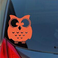 Wise Owl vinyl sticker decal car truck SUV cute wall hoot wisdom school teacher