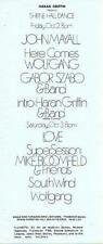 John Mayall Shrine Hall 1969 Concert Handbill Love