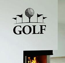 Golf Wall Vinyl Sticker Decal Art Mural English Sport Hobbies (ig3129)