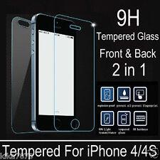 Vitre Film Protection en Verre Trempé incassable AVANT +ARRIERE iPhone 6/6S/Plus