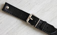 22mm piloto Aviator style compatible cronógrafos relojes militares banda colgante