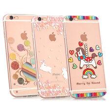 FANTASY TPU Cute Colourful Creative Novelty iPhone Soft Gel Back Case Cover
