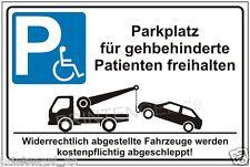Hinwesschild,Halteverbot,Parkverbot,Schild,Behindertenparkplatz,Parkplatz  P170+