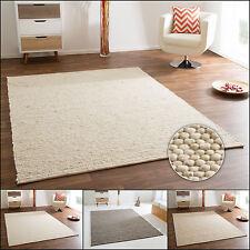 Handweb Teppich Gabun aus 100% Schurwolle - beidseitig verwendbar