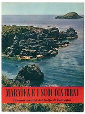 MARATEA E I SUOI DINTORNI ITINERARI TURISTICI DEL GOLFO DI POLICASTRO IGDA 1957