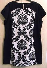 LADIES EX STORE JERSEY SHIFT DRESS UK SIZE 14