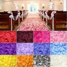 100 pétales de rose en fibre de tissus COMPACT mariage, fête, divers événement