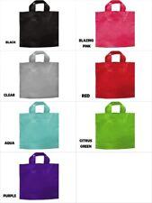 "PICCOLO SIZE Studio Plastic Bags 12""x10""x4"" Choose Color & Package Amount"