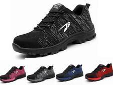femmes hommes sécurité léger Baskets Chaussures de travail embout coqué acier