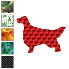 English Setter Dog Decal Sticker Choose Pattern + Size #1949