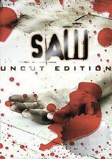 Saw (DVD, 2005, Uncut Edition)