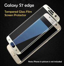 NUOVO Samsung Galaxy S7 bordo curvo in vetro temperato Pellicola Anteriore Proteggi Schermo UK