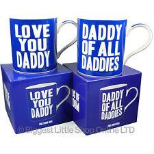 NEUF LOVE YOU Papa ou papa de toutes tasse boite de cadeau fête des Pères Noël