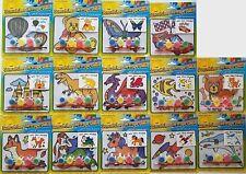 """Plastic Suncatcher  Paint Craft Kits Suncatchers 4.7""""H x 5.7""""W, Select Theme"""