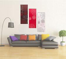 Grandes Xl Moderno tela pared arte Multi Abstracto Impresiones Sala De Estar Decoración Set