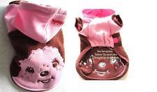 Hunde Sweat Pullover mit Kapuze Baumwolle mit Fleece rosa smileys ` klkxde Pulli
