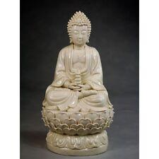 "Blanc de Chine ""Buddha Tathagata"", Große Porzellanfigur, Porzellan Skulptur"