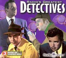 Radio Spirits Radios Greatest Detectives 2004 CD 3 Hours Factory Sealed NEW