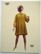 PHOTO - MANNEQUIN FEMME - NOVITA - SIÉGEL - COIFFURE - Tirage d'époque couleur
