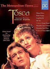 Puccini - Tosca / Sinopoli, Zeffirelli, Domingo, Behrens, MET by Kirk Browning,