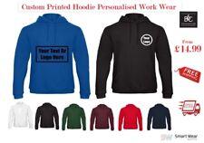 Personalised Printed Hooded Sweat B&C WUI24