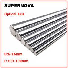 OD 6-16mm 45# Steel Round Rod Bar Linear Shaft Cylinder Optical Axis 100-1000mm