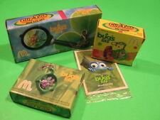 1998 McDonalds - A Bug's Life Clip-Tock Watches set of 3 *Mib*