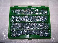 260 Nietmuttern Sortiment M4-M8 Alu Stahl oder Edelstahl A2 FK in Kunststoffbox