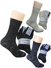 Jeans Socken 100% Baumwolle Jeanssocken 39-42  43-46  47-49