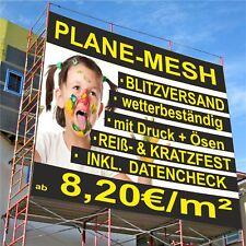 Mesh Werbebanner Werbeplane LKW PVC Plane Banner Digitaldruck Werbeplakat Druck