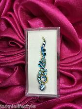 Da Donna Indiano Bollywood Design Cristallo Diamante Bindi Gioiello Per Il Corpo