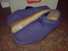 CLARKS Authentique Hommes wallabees chaussure bleu foncé UK 6,7 .5,8,8 .5,