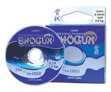 30m Lazer Shogun Hook Link 2lb 3lb 4lb 5lb 6lb 8lb 10lb